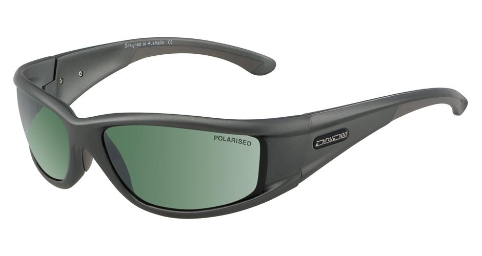 Dirty Dog Banger Sunglasses - Shiny White/Blue Polarised yRMpO8S8B