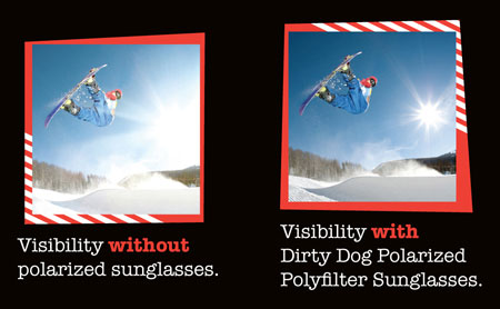 2c0fb7b30806 DIRTY DOG POLYCARBONATE and POLARIZED POLYFILTER LENSES